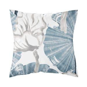 ajaton tyynynpäällinen sininen