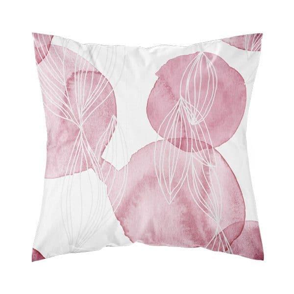 keväinen tyynynpäällinen vaaleanpunainen