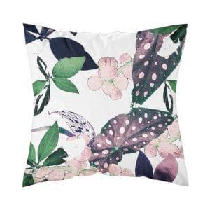 kuviollinen tyynynpäällinen vaaleanpunainen