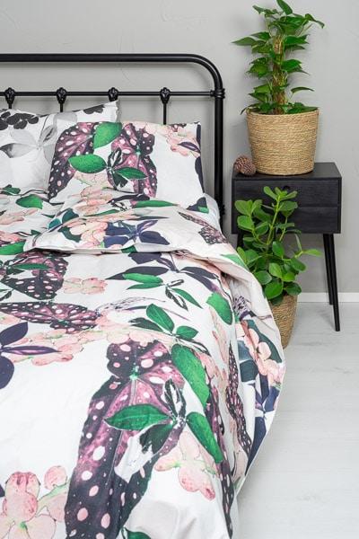 Laadukas pussilakanasetti-makuuhuone