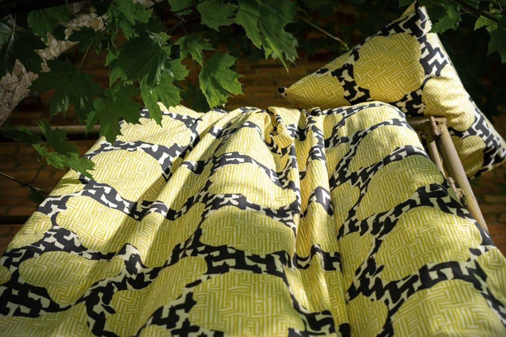 Vilpolan keltainen pussilakanasetti