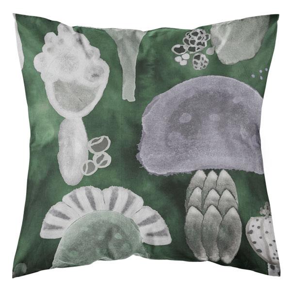 tyynynpäällinen vihreä