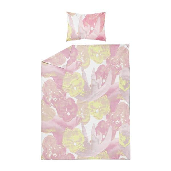 kotimainen pussilakanasetti, vaaleanpunainen