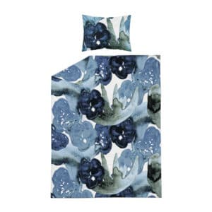 kotimainen pussilakanasetti, sininen