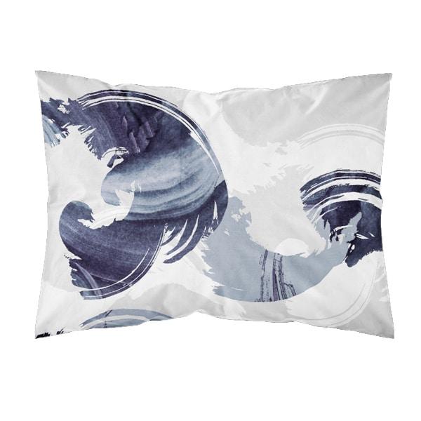 kotimainen tyynyliina, Kuohu sininen