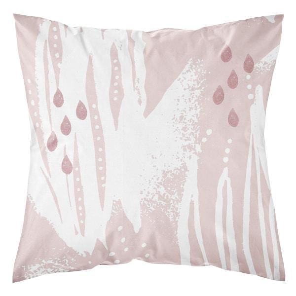 Kotimainen tyynynpäällinen, vaaleanpunainen