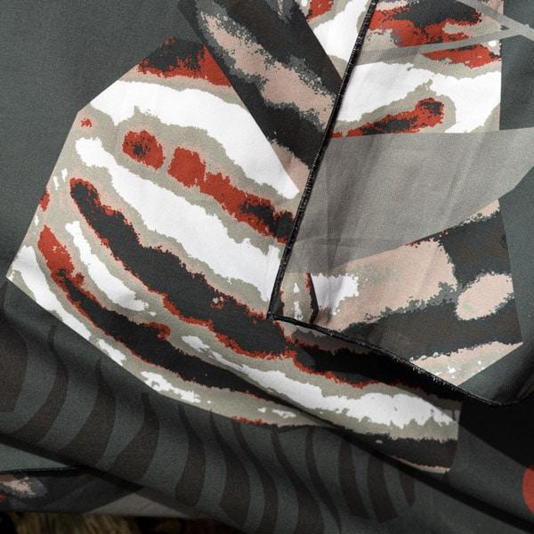 kotimainen pussilakanasetti harmaa, huivinsauma