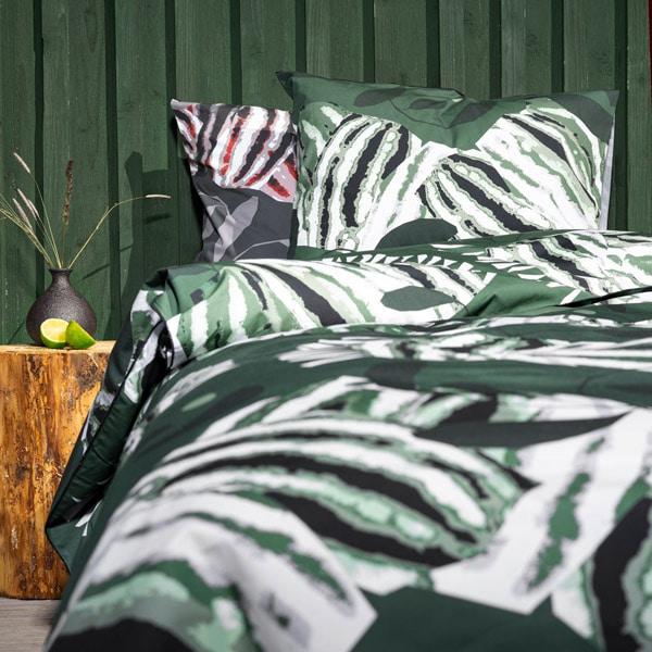 kotimainen pussilakanasetti, Sunnuntai, vihreä väritys