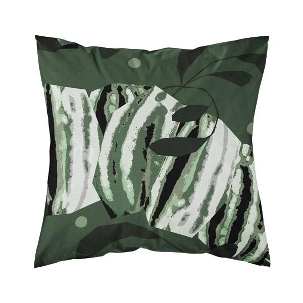 kotimainen tyynynpäällinen, vihreä