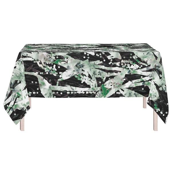 kuviollinen pöytäliina vihreä, Vilpola