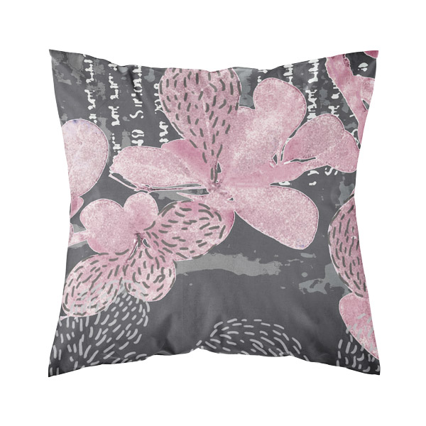 tyynynpäällinen 50x50 cm, roosa