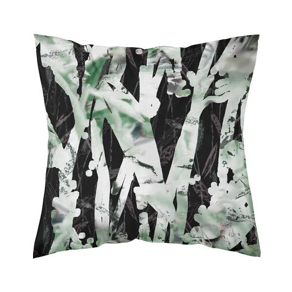 värikäs tyynynpäällinen, vihreä