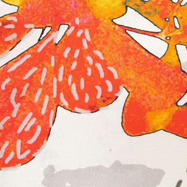 Jälki oranssi puuvilla