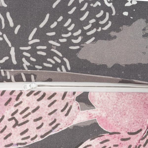 Jälki roosa, tyynyliinan vetoketju