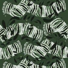 Sunnuntai-kangas, vihreä